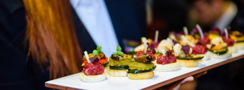 瑞士廚藝學院CAA學生3月22舉辦Cocktail Dinner art 雞尾酒藝術晚宴-藝術音樂饗宴之夜