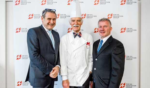 世界知名的英國皇室御用廚師- 安東・莫西曼委託個人收藏予瑞士教育集團3