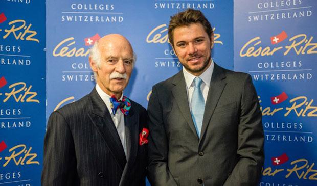 世界知名的英國皇室御用廚師- 安東・莫西曼委託個人收藏予瑞士教育集團4