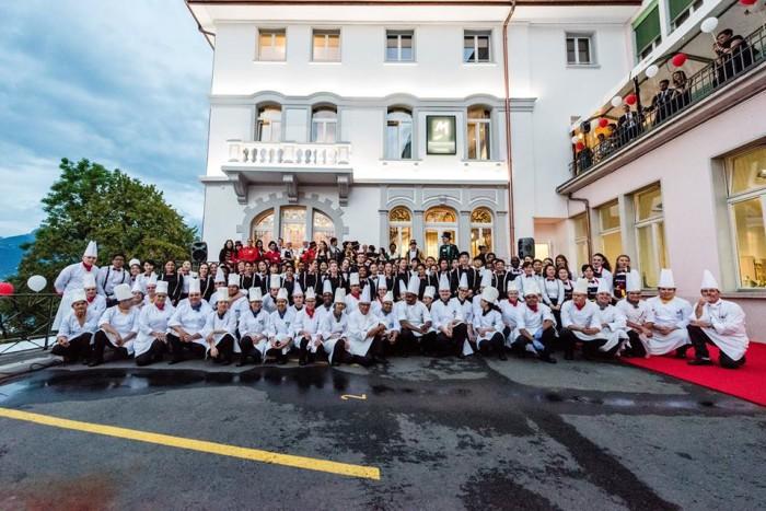 瑞士教育集團(Swiss Education Group—SEG) 協助主廚安東‧莫西曼,大英帝國勳章(OBE)受獎人的夢想實現4